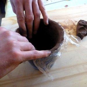 Exemple d'atelier poterie