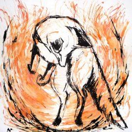 Nouveau tableau : «Mulotte» – Renard roux