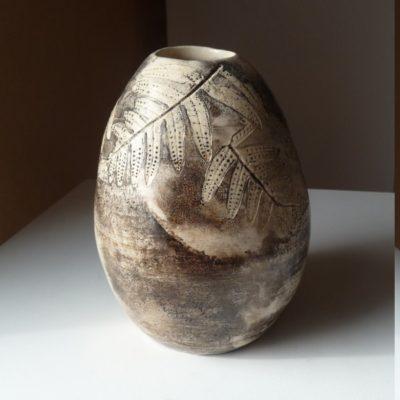 Vase fougère - vendu