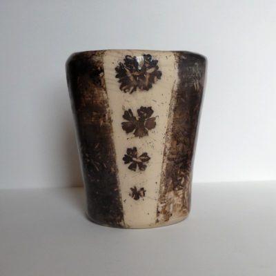 Vase trois géraniums - vendu