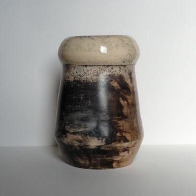 Vase enfumé 1 - vendu