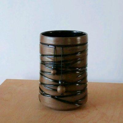 Vase terre brune 1 : 80€