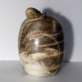 Nouvelle création : vase escargot