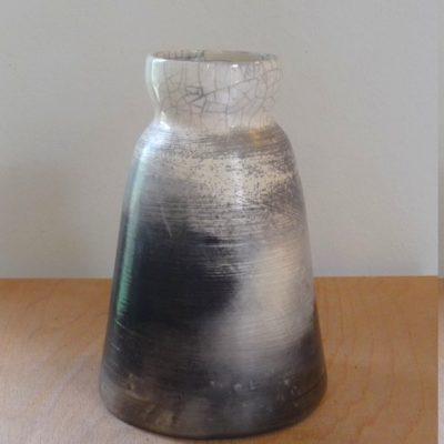 Vase enfumé 2 - vendu
