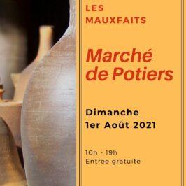 Marché de potiers – 1er août 2021 – Moutiers-les-Mauxfaits