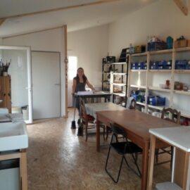 En septembre, l'atelier déménage (à 3 mètres) !